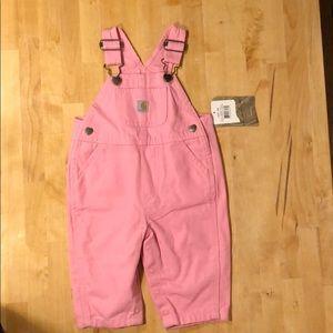 Carhartt baby girl overalls
